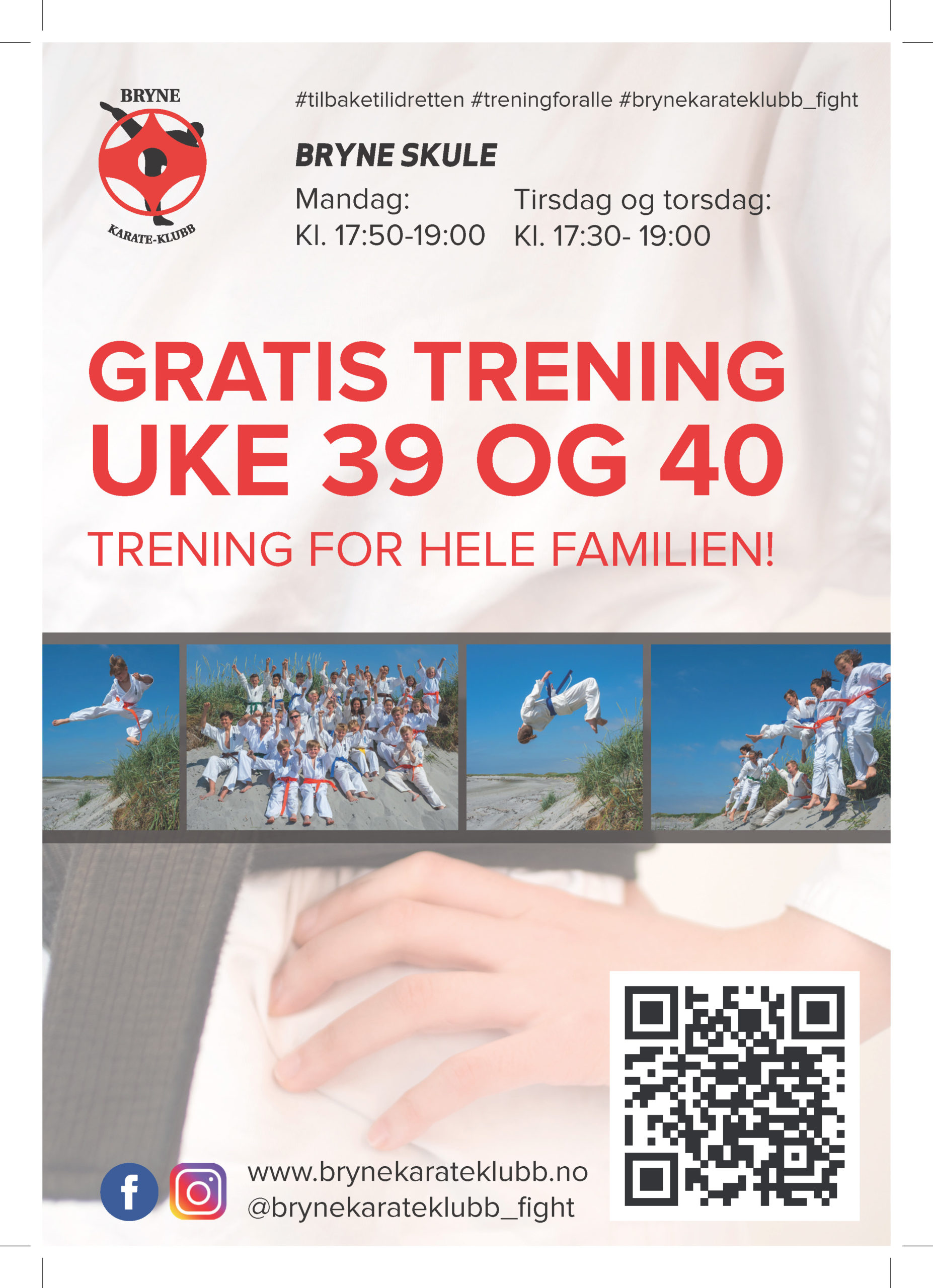 Read more about the article Gratis trening !